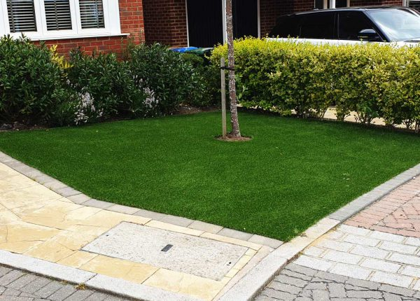 Home View Landscapes - Drive Paving & Grass