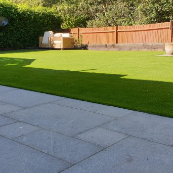 Home View Landscapes - turf finished