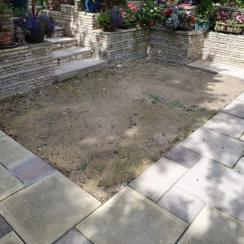 Home View Landscapes - Lawn design before